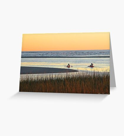 Heading Out at Dusk © Greeting Card