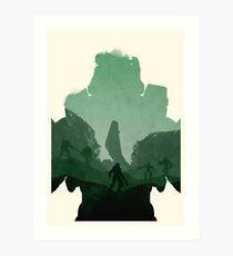Halo (No Text) Art Print