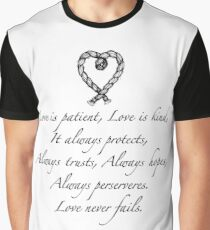 Love is patient, love is kind Graphic T-Shirt