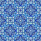 For the Love of Blue - Pattern 372 by LoraineCallow