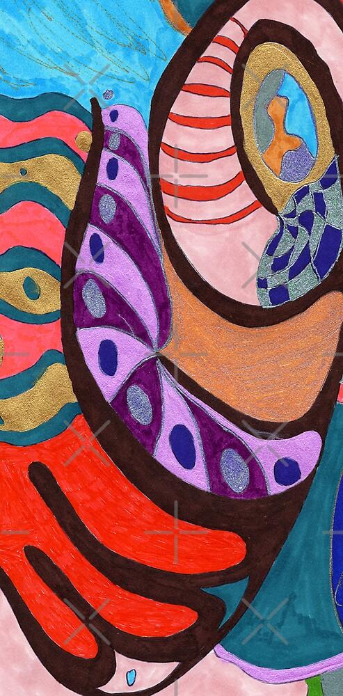 Purple Shell by Rebekah  McLeod