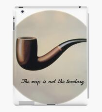 Thedery with Magritte (English) iPad Case/Skin
