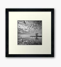 Cloudscape Framed Print