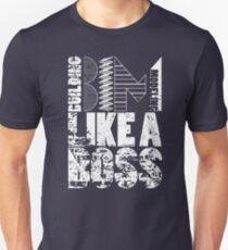 Building Information Modeling Like A Boss Design T-Shirt