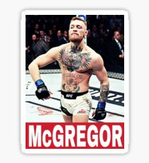 Conor McGregor TShirt Sticker
