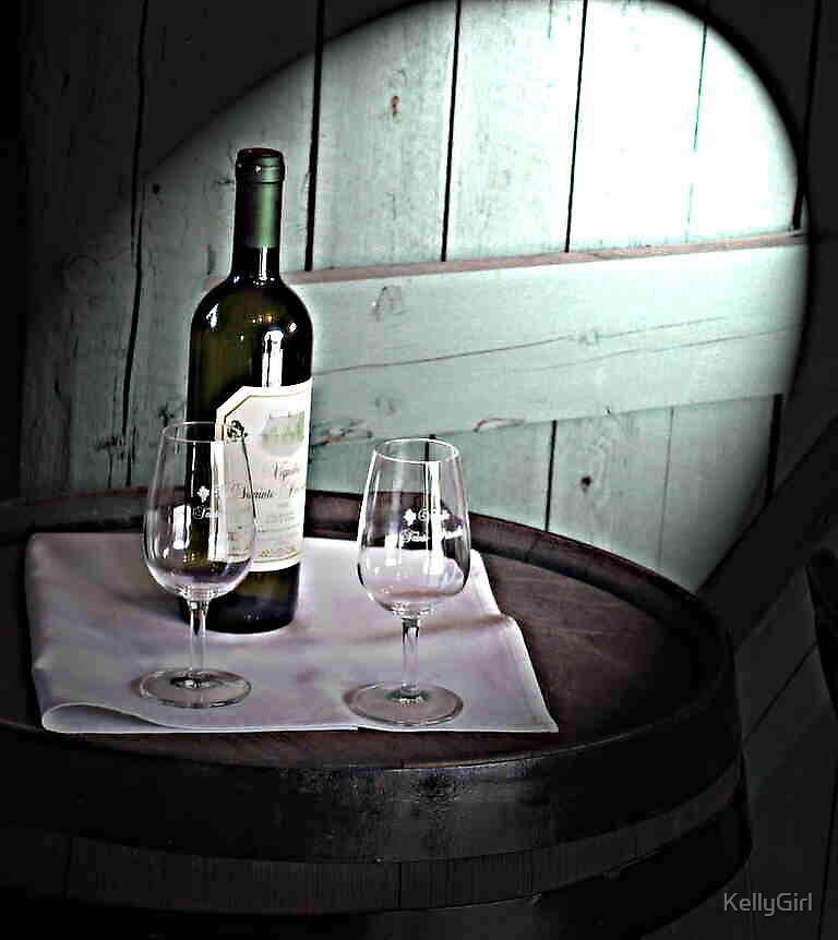 Spotlight on vintage wine by KellyGirl