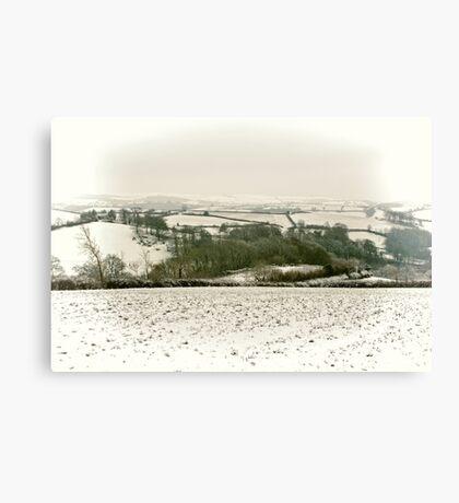 Snowcapped Canvas Print