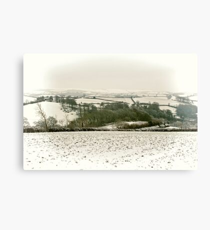 Snowcapped Canvas Print