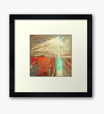 Old man and the Mountain Framed Print
