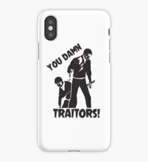 You damn Traitors! Attack on Titan iPhone Case/Skin
