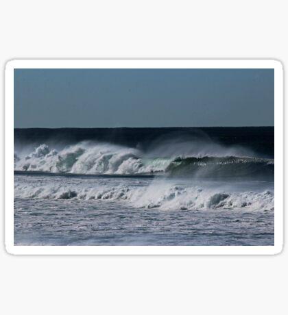 Windy Waves Sticker