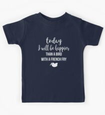 Today I will Be Happier Kids Tee