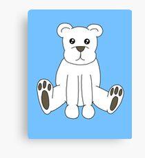 Cute Polar Bear Canvas Print