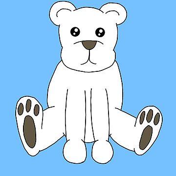 Cute Polar Bear by StabbedPanda