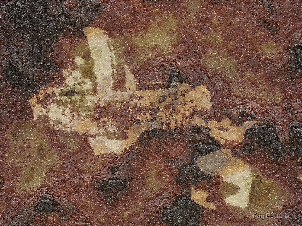 Cave Drawing  by Kay Patterson