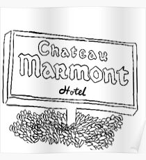Chateau Marmont Poster