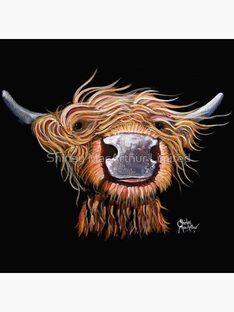 HIGHLAND COW PRINTS of Original Painting /' THE LOVELIES /' by SHIRLEY MACARTHUR