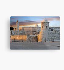 Morro Castle At Sunset Metal Print
