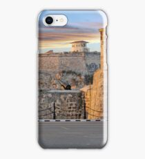 Morro Castle At Sunset iPhone Case/Skin