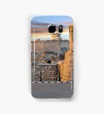 Morro Castle At Sunset Samsung Galaxy Case/Skin