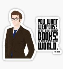 Doctor Books Sticker