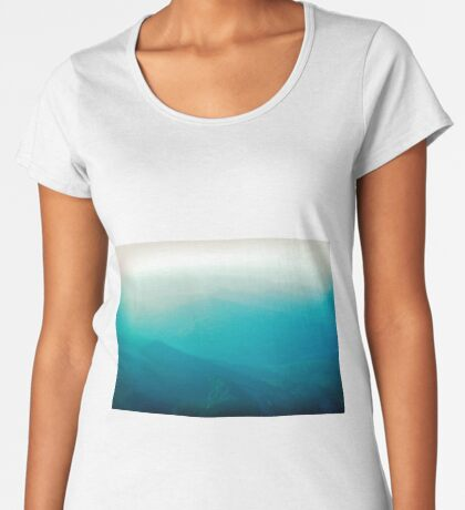 Vancouver Island from the air Women's Premium T-Shirt