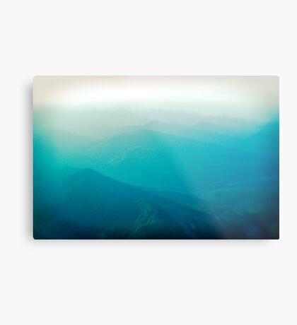 Vancouver Island from the air Metal Print
