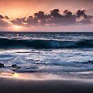 Sunset over El Arena by Kasia-D