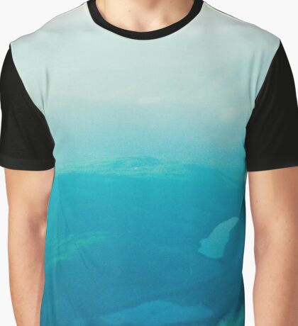 Vancouver Island aerial Graphic T-Shirt