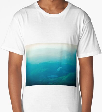 Vancouver Island aerial Long T-Shirt