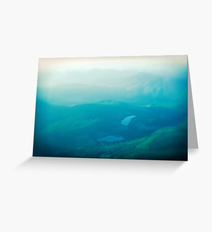 Vancouver Island aerial Greeting Card