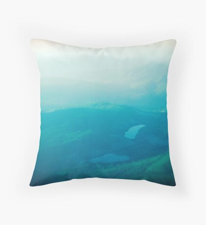 Vancouver Island aerial Throw Pillow