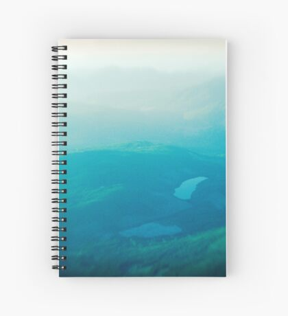 Vancouver Island aerial Spiral Notebook