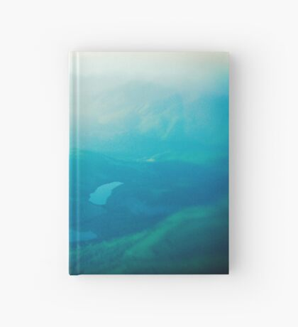 Vancouver Island aerial Hardcover Journal