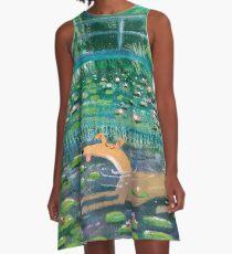 Greympressionism A-Line Dress