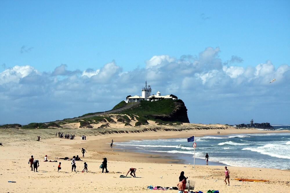Nobby's Beach Newcastle by mel30y