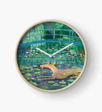 Greympressionism Clock