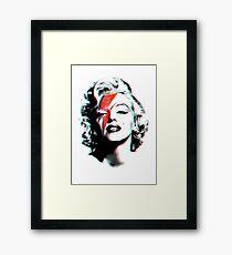 Marilyn Bowie Framed Print