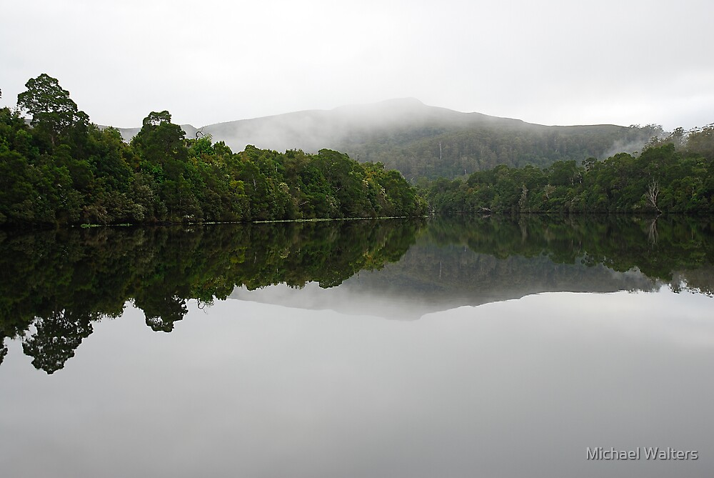 Pieman River, Tarkine Wilderness by Michael Walters