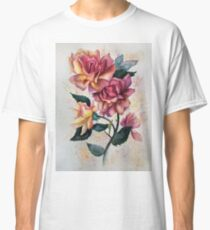 Fresh Tea Roses Classic T-Shirt