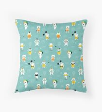 Cats performers Throw Pillow
