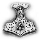 Thor's Hammer  by Norseman  Arts