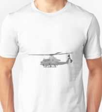 American grey attack helicopter T-Shirt