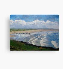 Saunton Sands Beach, North Devon Canvas Print