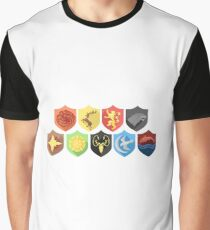 Game of Thrones Shields Graphic T-Shirt