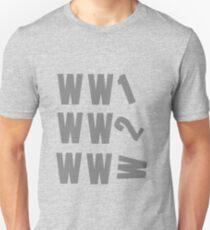 The Evolution of 20th Century warfare T-Shirt