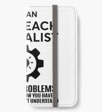 OUTREACH SPECIALIST - NICE DESIGN 2017 iPhone Wallet/Case/Skin