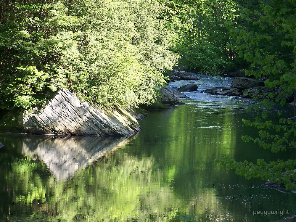Slippery Rock Creek by peggywright