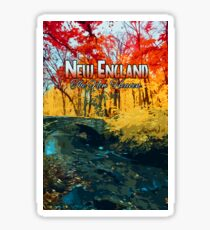 New England - The New Heaven Sticker