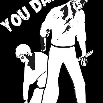 You Damn Traitors! (White on Black) by realdradex